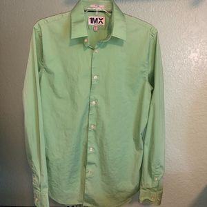 Green Express Fitted dress shirt